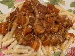 Recette Marengo de Carne de Porco no Cookeo / Marengo de Viande de Porc dans le Cookeo