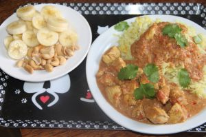 Recette Curry de poulet epices douces et fruits