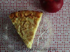 Recette Cuajada aux pommes et speculoos