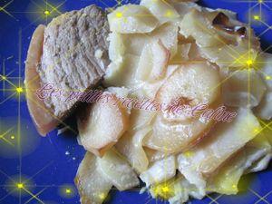 Recette Rouelle de porc au soja et au miel