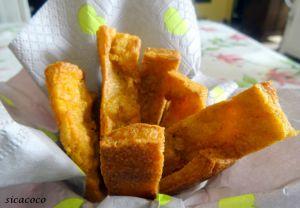 Recette Frites de polenta