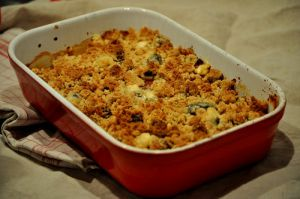 Recette Crumble Tomates Courgettes