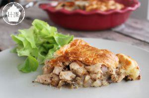 Recette Tourte au poulet de Jamie Oliver # Escapade en cuisine