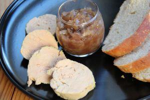 Recette Foie gras maison, confiture d'oignons