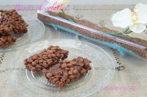 Recette Barres chocolatées aux céréales