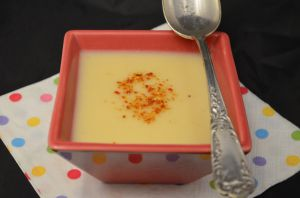 Recette Soupe au chou fleur - Cauliflower soup