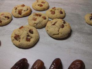 Recette Cookies aux dattes et amandes
