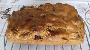 Recette Cake feta courgettes et chorizo