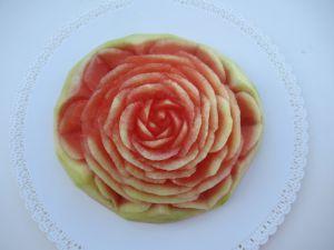 Recette Fleur sur pastèque #2
