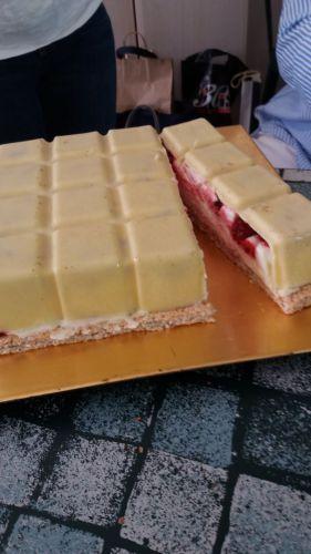 Recette Entremet chocolat blanc,citron