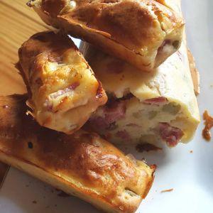 Recette Cake jambon et olives vertes