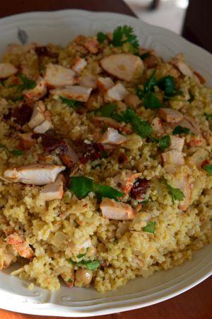 Recette Salade de boulghour au poulet harissa