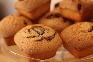 Recette Mini quatre-quart au nutella