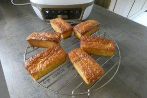 Recette Petits cakes au citron au cake factory