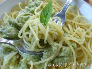 Recette Pesto de courgettes