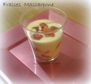 Recette Fraises mascarpone