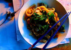 Recette Meilleures nouilles au beurre d'arachides épicé
