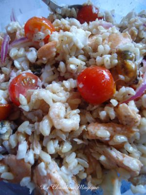 Recette Salade de fruits de mer à la plancha