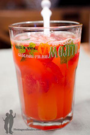 Recette Mojito fraise