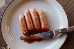 Recette Pour Halloween:mangez des doigts