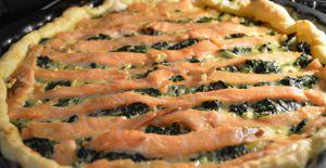 Recette Quiche saumon épinard