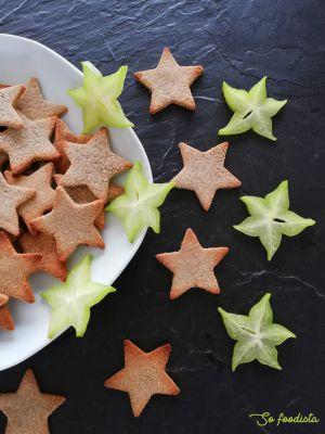 Recette Sablés de Noël à la farine de sarrasin (sans gluten, sans lactose)