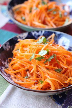 Recette Salade de carottes à la chinoise