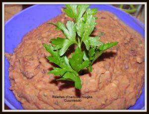Recette Rillettes aux haricots rouges et haricots blancs