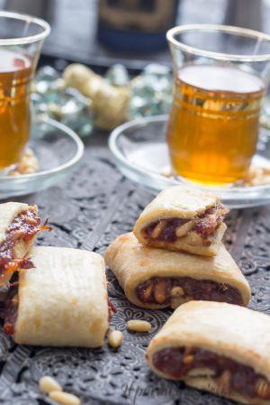 Recette Biscuits aux dattes et pignons de pin, dattes de Newtons