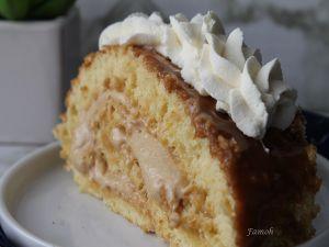 Recette Gâteau roulé spéculoos