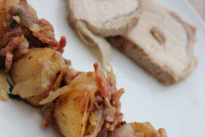 Recette Rôti de porc à la confiture de figue & noix