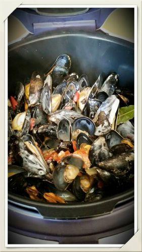 Recette Moules au Cookeo