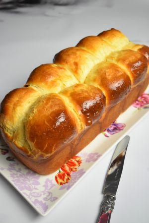 Recette Vraie brioche du boulanger sans lait