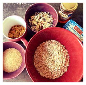 Recette Barres de céréales aux flocons d'avoine