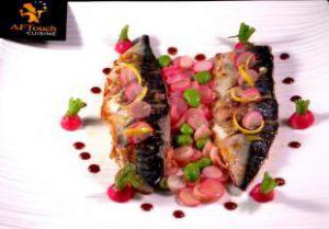 Recette Filets de maquereau de ligne poêlés et radis roses