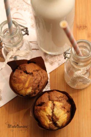 Recette Muffin marbré à la pâte à tartiner maison