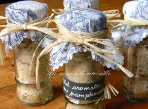 Recette Fleur de sel aromatisée au pamplemousse