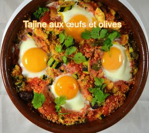 Recette Tajine aux œufs et olives