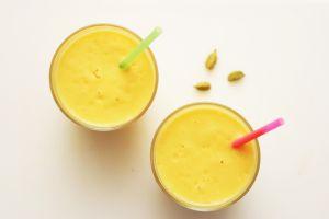 Recette Menu 434 : lassi de mangue à la cardamone, cannelle... et chamallow