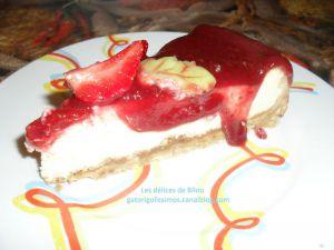 Recette Cheesecake fraises