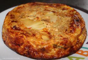 Recette Escapade en cuisine Frittata aux légumes