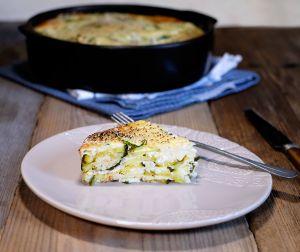 Recette Pashtida aux courgettes et à la menthe (cuisine juive)