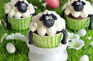 Recette Cupcakes de Pâques au chocolat {Shaun le mouton}