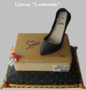 """Recette Gâteau """"Louboutin"""" en Pâte à Sucre"""