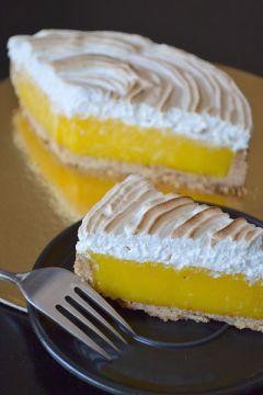 Recette Tarte au citron meringuée à l'italienne