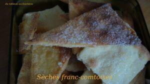 Recette Sèches franc-comtoises
