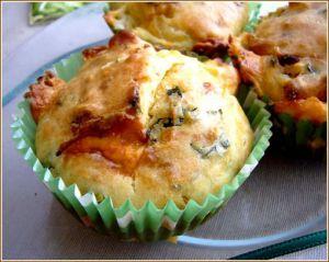 Recette Cakes courgette feta