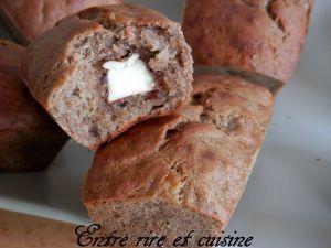 Recette Petits cakes banane/sarrasin aux Kinder®...un petit air de Pâques