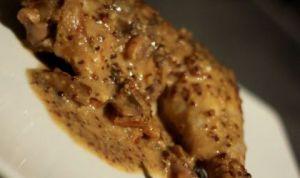 Recette Cuisses de poulet à la moutarde