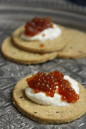Recette Caviar vegan {Noël 2014}